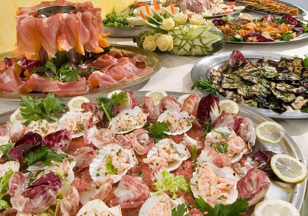 Hotel Ambasciatori Cattolica buffet Ristorante